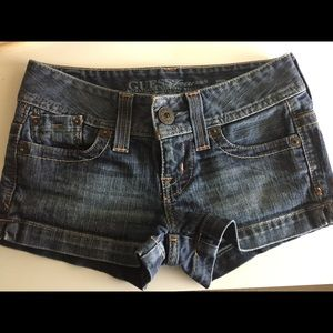 Guess shorts size 23